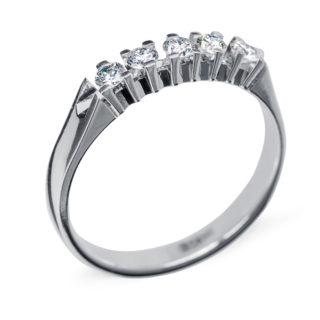 Ascella каблучка з діамантами R0207