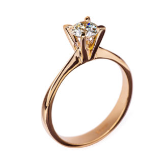 Boadicea чудова каблучка з діамантом R0555