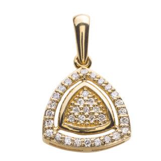 Metis золота підвіска з діамантами P0492