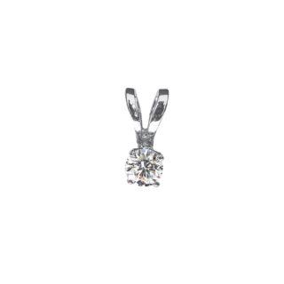 Pleione підвіска золота з діамантом P0475