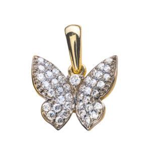 Meissa підвіска у формі метелика з діамантами P0292