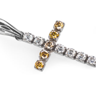 Mira хрест з діамантами P0366
