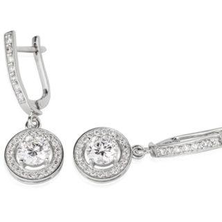 Ексклюзивні сережки з діамантами Partula E0466П