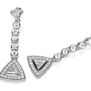 Золоті сережки з діамантами Hestia E0640