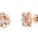 Ancha золоті сережки гвоздики з діамантами E0661 - Фото 3