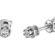 Heka сережки гвоздики з діамантами E0681 - Фото 3