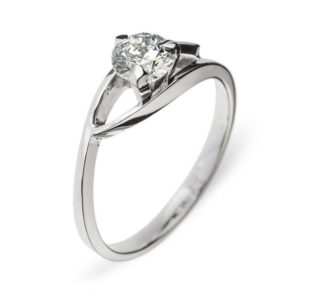 Amalthea каблучка з діамантом R0454 - Фото 1