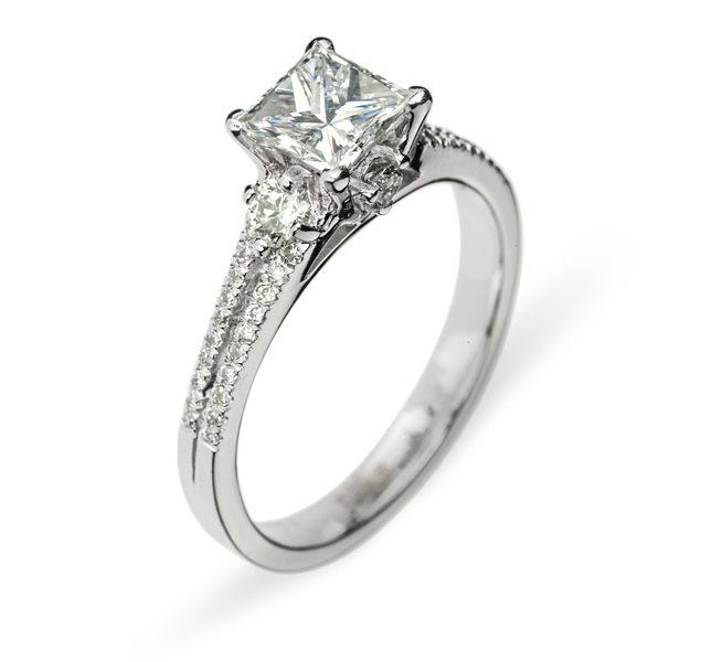 Helene каблучка з діамантами R0222 - Фото 1