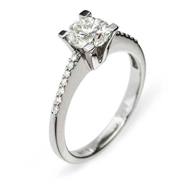 Kore казкова каблучка з діамантом R0121 - Фото 1