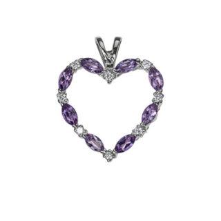 Thistle ніжна підвіска з діамантами P0345