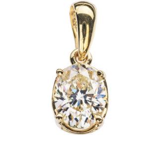 Camilla золота підвіска з діамантом P0641