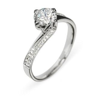 Sinope каблучка з діамантами R0144