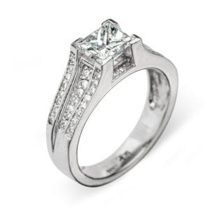 Callisto каблучка з діамантами R0156