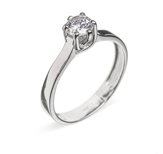 Beatrix каблучка з діамантом R0269 - Фото 1