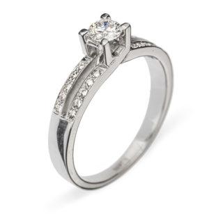 Thyone каблучка з діамантом R0271