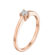 Elizabeth золота каблучка для заручин R0284 - Фото 2