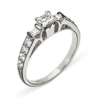 Adrastea каблучка з діамантами R0376