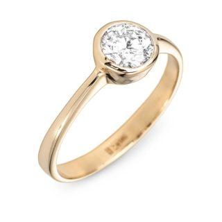 Caroline золота каблучка з діамантом R0556