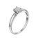Eleanor класична каблучка з діамантом R0561 - Фото 4