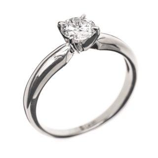 Eleanor класична каблучка з діамантом R0561