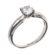 Eleanor класична каблучка з діамантом R0561 - Фото 2