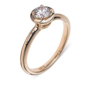 Fesebel каблучка для заручин з діамантом R0568