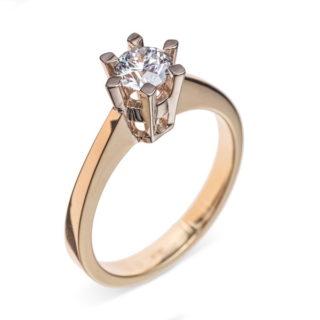 Zenobia каблучка з діамантом R0589