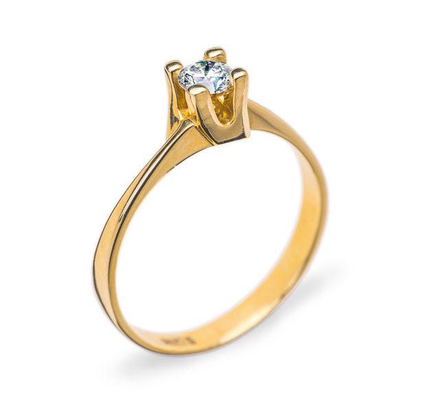 Myra помолвочноє кільце з діамантом R0617 - Фото 1