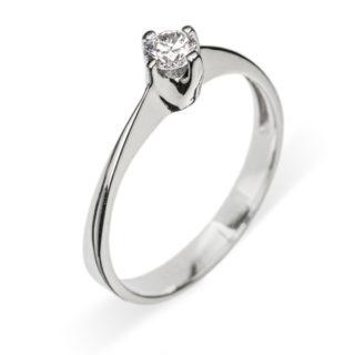 Anastasia золота каблучка з діамантом R0651