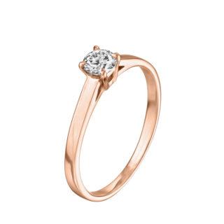 Beatrice каблучка для заручин з діамантом R0674