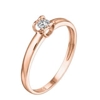 Charlene каблучка з діамантом R0692
