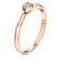 Letizia каблучка з білого золота з діамантом R0693 - Фото 3
