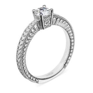 Dione золота каблучка з діамантом R0712