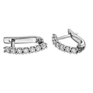 Сережки з діамантами E0904