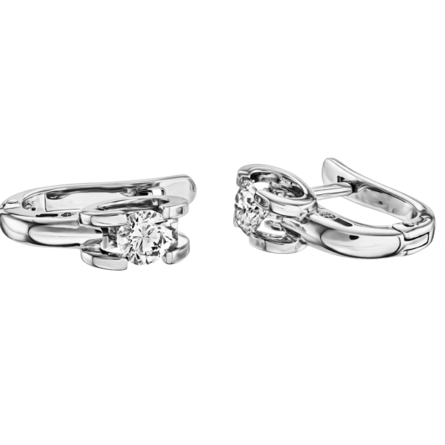 Сережки з діамантами E1063 - Фото 1