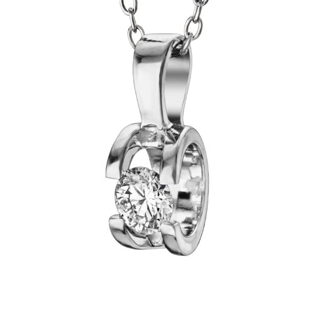 Діамантова підвіска P0527 - Фото 1