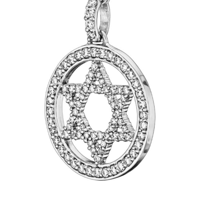 Діамантова Зірка Давида P1092 - Фото 1