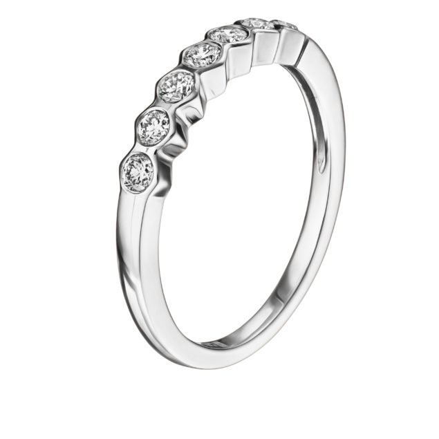 Каблучка з діамантами R0188-1 - Фото 1