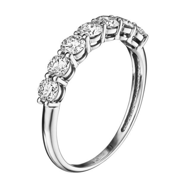 Каблучка з діамантами R0303-1 - Фото 1