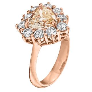 Каблучка з діамантами R1021