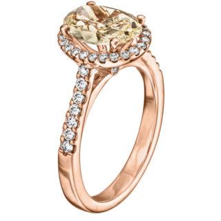 Каблучка з діамантами R1171