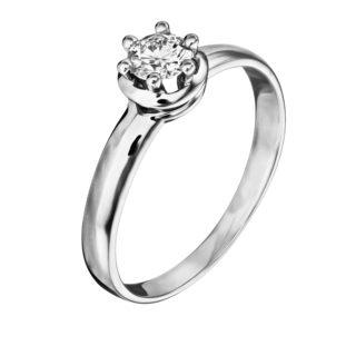 Каблучка з діамантом R1182