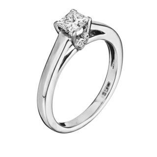 Каблучка з діамантами R1185