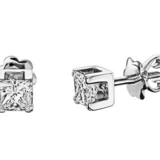 Cучасні пусети з діамантами E0912